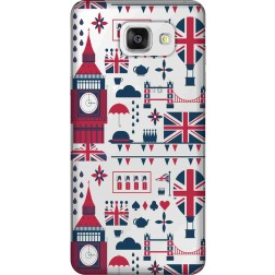 Big Ben London Clear Case for Samsung Galaxy A5 2016