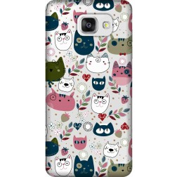 Cute Lil Cats Clear case for Samsung Galaxy A5 2016