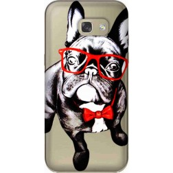 Wicked Bulldog Clear Case for Samsung Galaxy A5 2017