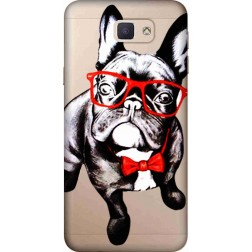 Wicked Bulldog Clear Case for Samsung Galaxy J5 Prime
