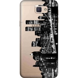 New York City Clear Case for Samsung Galaxy J7 Prime