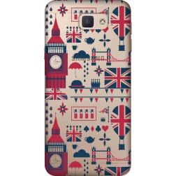Big Ben London Clear Case for Samsung Galaxy J7 Prime