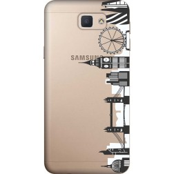 London City Clear Case for Samsung Galaxy J5 Prime