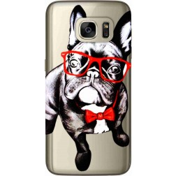 Wicked Bulldog Clear Case for Samsung Galaxy S7
