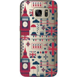 Big Ben London Clear Case for Samsung Galaxy S7
