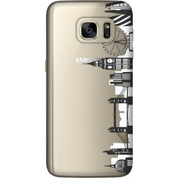 London City Clear Case for Samsung Galaxy S7
