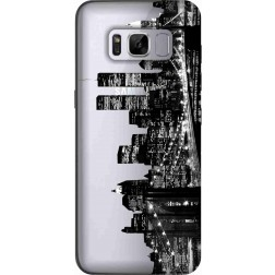 New York City Clear Case for Samsung Galaxy S8