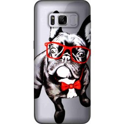 Wicked Bulldog Clear Case for Samsung Galaxy S8 Plus