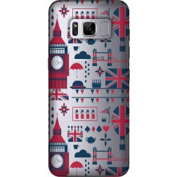 Big Ben London Clear Case for Samsung Galaxy S8