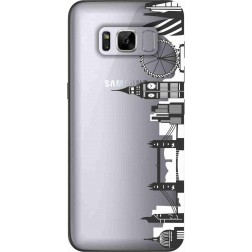 London City Clear Case for Samsung Galaxy S8 Plus