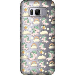 Yunicorn Clear Case for Samsung Galaxy S8
