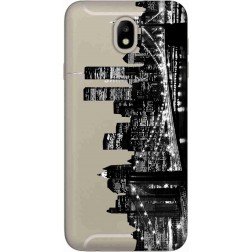 New York City Clear Case for Samsung Galaxy J7 2017