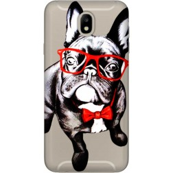 Wicked Bulldog Clear Case for Samsung Galaxy J7 2017