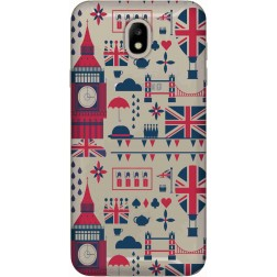 Big Ben London Clear Case for Samsung Galaxy J7 2017