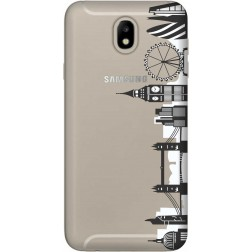 London City Clear Case for Samsung Galaxy J7 2017