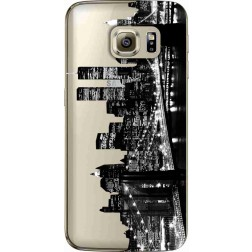 New York City Clear Case for Samsung Galaxy S6  Edge