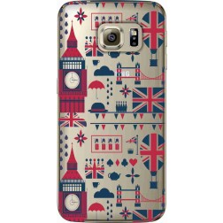 Big Ben London Clear Case for Samsung Galaxy S6 Edge