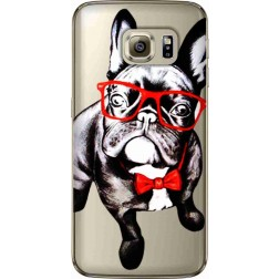Wicked bulldog Clear Case for Samsung Galaxy S7 Edge