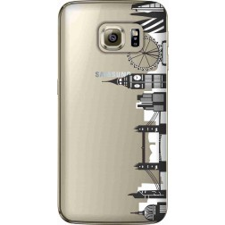 London city clear case for Samsung Galaxy S7 Edge