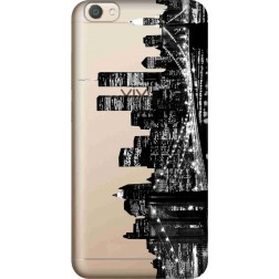 New York City Clear Case for Vivo V5