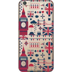 Big Ben London Clear Case for Vivo V5