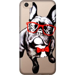 Wicked bulldog Clear Case for Vivo V5 Plus