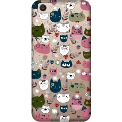 Cute Lil Cats Clear Case for Vivo V5 Plus