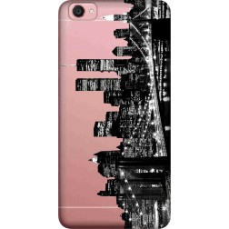 New York City Clear Case for  Vivo Y55L