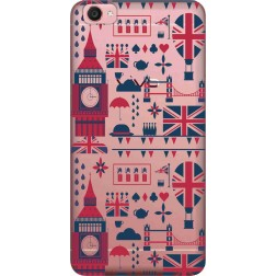 Big Ben London Clear Case for Vivo Y55L