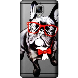 wicked bulldog clear case for oneplus 3
