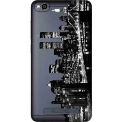 New York City Clear Case for Xiaomi Redmi 4A