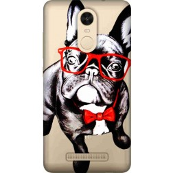 Wicked bulldog Clear Case for Xiaomi Redmi Note 3
