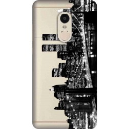 New York City Clear Case for Xiaomi Redmi Note 4