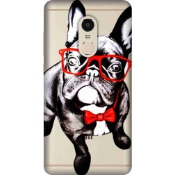 Wicked bulldog Clear Case for Xiaomi Redmi Note 4