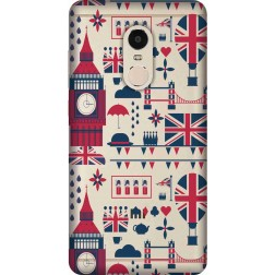 Big Ben London Clear Case for Xiaomi Redmi Note 4